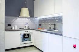 Bright tiny kitchen