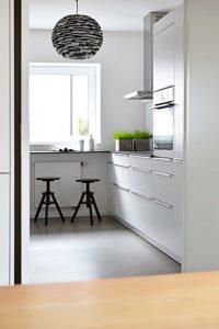 Stylish White Kitchen